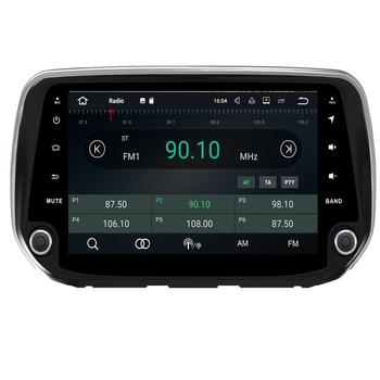DSP IPS Android 9.0 Octa Core 4GB + 64GB Car DVD Player GPS Map RDS Radio WIFI 4G Bluetooth 4.2 For Hyundai IX45 Santa Fe 2018