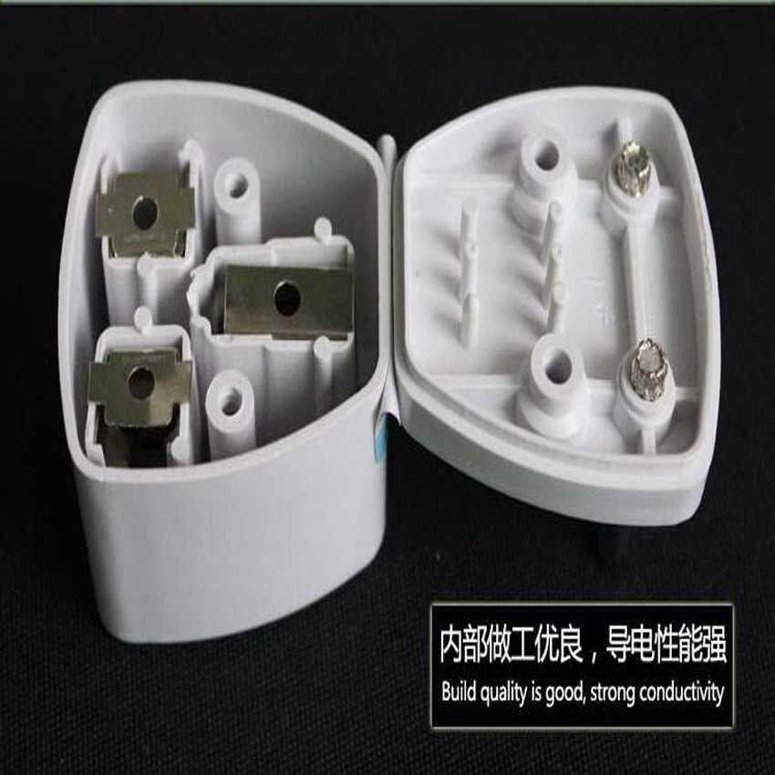 1 PC adapter podróżny adapter australijski nowa zelandia regulacyjnych wtyczka konwersji 2 Pin AC moc adapter wtyczki wielofunkcyjny wtyczka