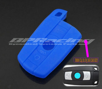 Silicone Remote Control Car Key Case Key cover for BMW 3 5 6 Series Z4 X1 X5 X6 image