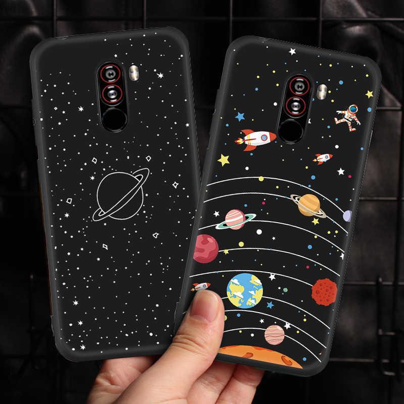 Penutup Silikon Ponsel Case untuk Xiao Mi Merah Mi S2 Note 6 PRO 5 Plus 4X Mi A2 Lite Mi 8 Mi 8 Mi 6X Pocophone F1 Pocophone Matte TPU Case