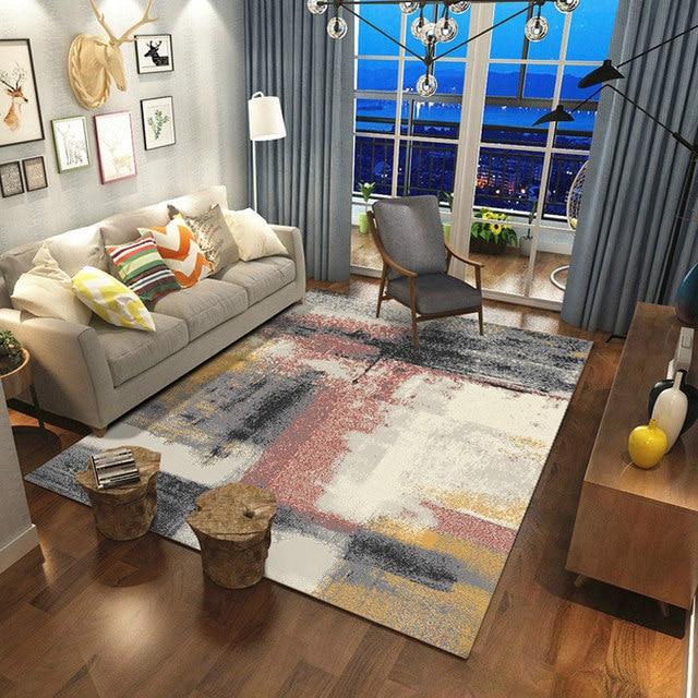 Moderne Nordic Teppich Wohnzimmer Home Bedcor Schlafzimmer Teppiche ...