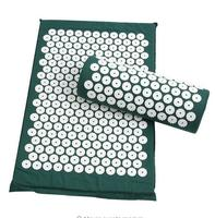 Drop Shipping Massage Cushion Acupressure Mat Relieve Stress Pain Acupuncture Spike Yoga Mat With Pillow