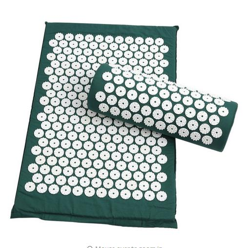 Drop-shipping Massage cushion Acupressure Mat Relieve Stress Pain Acupuncture Spike Yoga Mat with Pillow povihome 1set massage cushion acupressure therapy mat relieve stress pain relief acupuncture spike yoga mat with pillow d06874