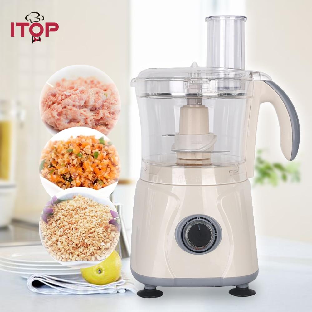 Itop Commercial Food Mixer Blender 3-Speeds High Quality Blender Food Processors цена и фото