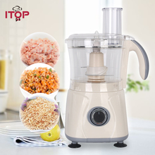 Itop Commercial Food Mixer Blender 3-Speeds High Quality Blender Food Processors household 3 speeds cordless crazy stirring stick blender automatic agitator mixer kitchen utensil food sauce auto stirrer