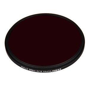 Image 2 - ZOMEI 680NM الأشعة تحت الحمراء X RAY مرشح الأشعة تحت الحمراء مرآة ل DSLR عدسة مرآة الشظية حافة 43/46/ 49/52/55/58/62/67/72/77 ملليمتر
