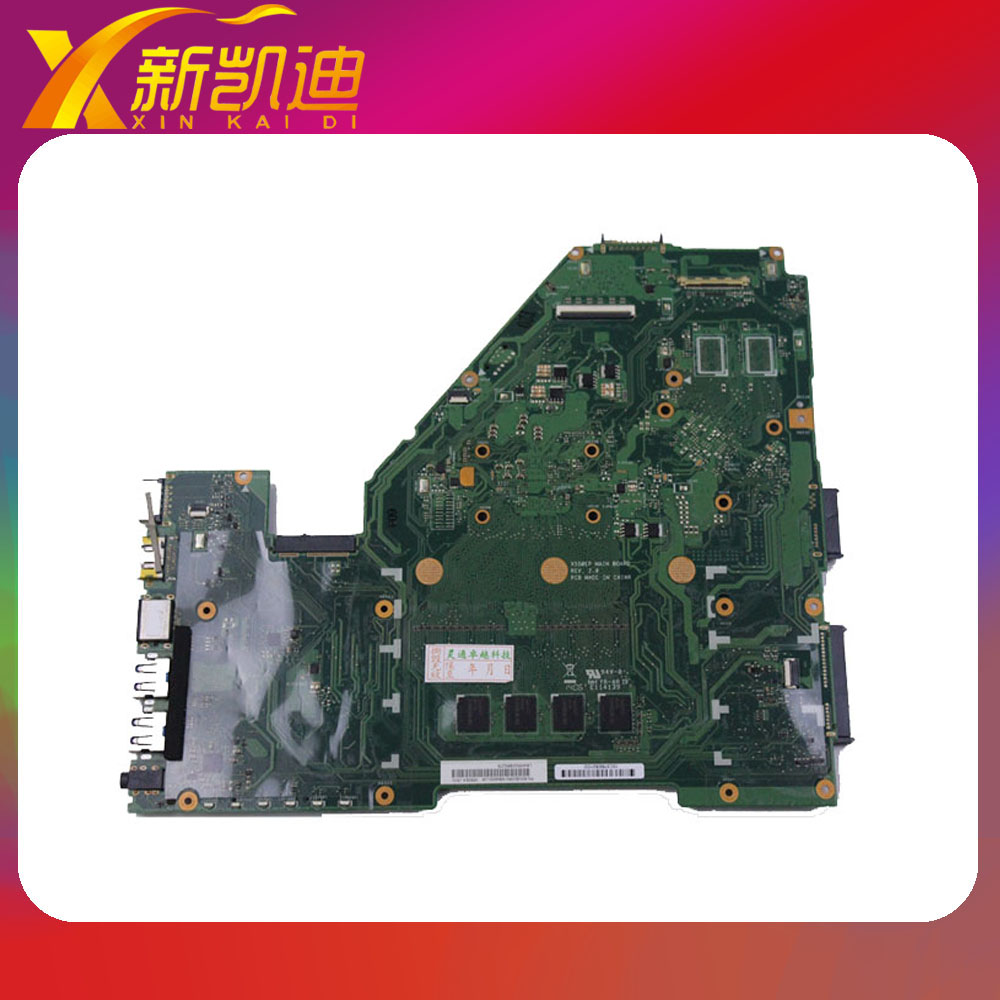 X550EP Laptop Motherboard CPU 3800 4G Non-integrated Mainboard Free shipping laptop motherboard for toshiba a205 a200 v000108040 integrated ddr2 mainboard full tested free shipping