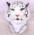 Buen Regalo 2016 de la Nueva Llegada 3D Tigre Blanco Cabeza Mochila Animal de la historieta Mujeres Hombres Casual Mochilas Para Viajar Bolsas de Los Niños Bolsas