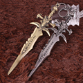 WOW GAME TOYS PENDANT FROSTMOURNE KEYCHAIN ALLOY WEAPON MODEL
