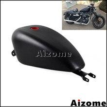 Tanque de combustible EFI 3,3 Gal para motocicleta Harley Sportster XL1200 XL883 SuperLow Iron 883 personalizado 72 48 2007-2016, tanque de Gas y aceite, color negro