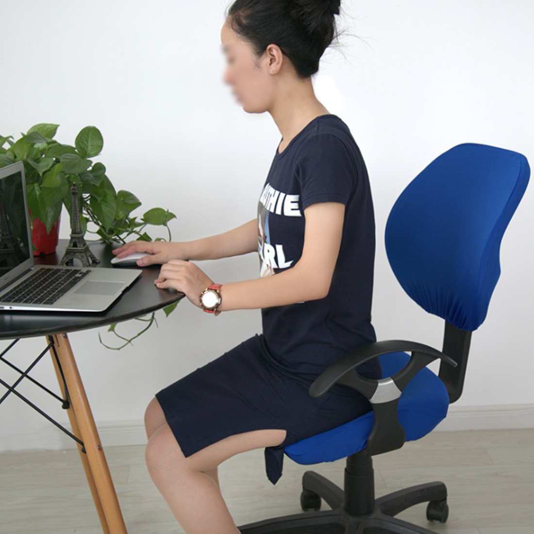 Elastic Chair Covers Made with Polyester Material For Office and Computer Chair in Universal Size 4