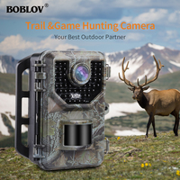 BOBLOV E2 Trail Camera 16MP 1080P IR Hunting Camera Waterproof Outdoor Wild Game Farm Camera for Hunting Photo Traps