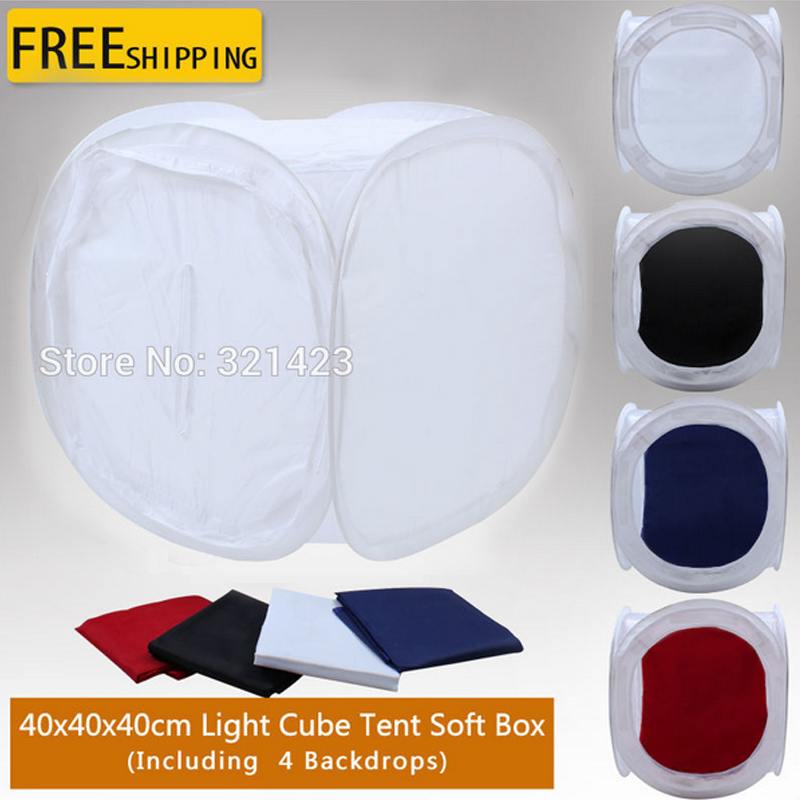 Photography Equipment Soft Light Tent 40*40cm Photo Studio Softbox Softlight Tent for Professional Picture