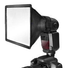 30x20 см/17x15 см Универсальный складной рассеиватель для вспышки светильник софтбокс для Nikon Canon Sigma sony Yongnuo Godox скоростной светильник