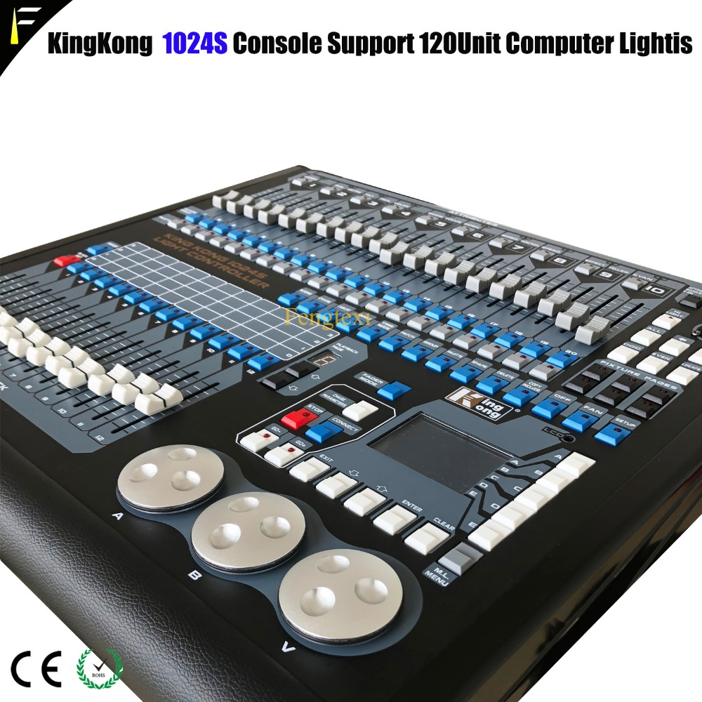 Kk 1024S Creator Console Moving Head Light Conputer Controller Light Show Light Sound Synchronization Controller Incl Fligt Case