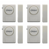 SE 0137 Free Shipping Door Window Magnetic Security Alarm Includes 12 LR44 AG13 Button Cell Batteries