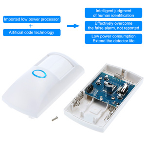 Image 4 - JeaTone Wireless Motion PIR Sensor Detector 433 Mhz Home Security Pet Immune Motion Sensor Infrared Detector For Alarm System