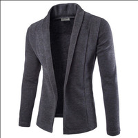 2017 New Autumn Casual Blazers Men Fashion Thin Jacket Linen And Cotton Coats Male Suits Brand