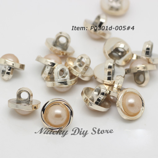 2013 Popular sewing coat buttons with pearl, Beige imitation ABS pearl shirt buttons suit for fashionable clothing