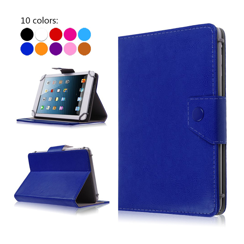 For BlackBerry PlayBook tablet case 7.0 universal PU Leather Book Cases cover for Dell Venue 7+Free Stylus+Center Film deuter giga blackberry dresscode