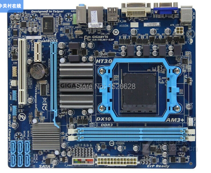 original desktop motherboard for Gigabyte GA-78LMT-S2P DDR3 Socket AM3+ Fully integrated Gigabit Ethernet free shippingoriginal desktop motherboard for Gigabyte GA-78LMT-S2P DDR3 Socket AM3+ Fully integrated Gigabit Ethernet free shipping