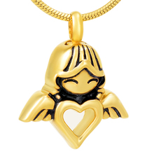 Little Angel Heart Urn Necklace