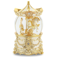 music Box Music box Carousel Crystal ball Castle in the Sky Birthday gift for girls Creative girl Free shipping