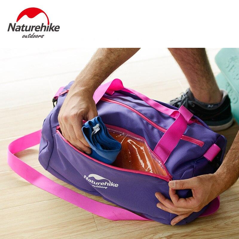 Prix pour Naturehike sac de natation unisexe étanche grande capacité humide et sec séparation combo sec humide sac de plage sac 20l