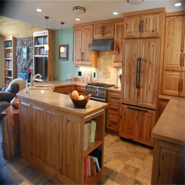 Мебель Американский твердой древесины эспрессо шейкер RTA кухонный шкаф ...