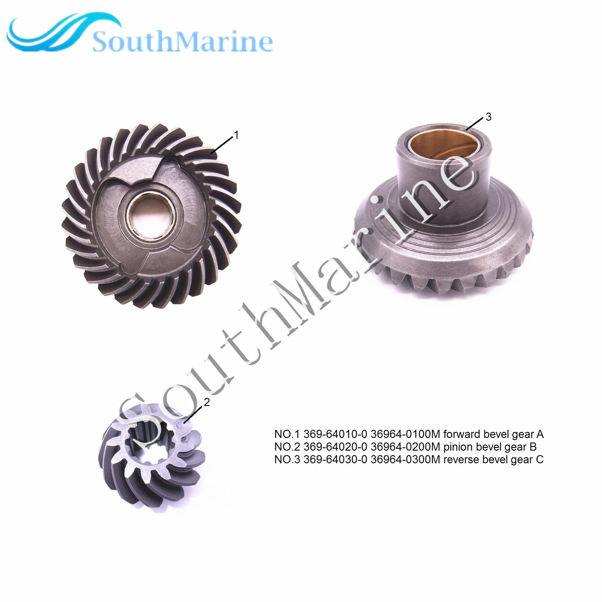36964-0200M & 369-64030-0 369-64010-0 36964-0100M & 369-64020-0 36964-0300M Bevel Gear A/B/C for Tohatsu Nissan M4C M5B M5BS36964-0200M & 369-64030-0 369-64010-0 36964-0100M & 369-64020-0 36964-0300M Bevel Gear A/B/C for Tohatsu Nissan M4C M5B M5BS
