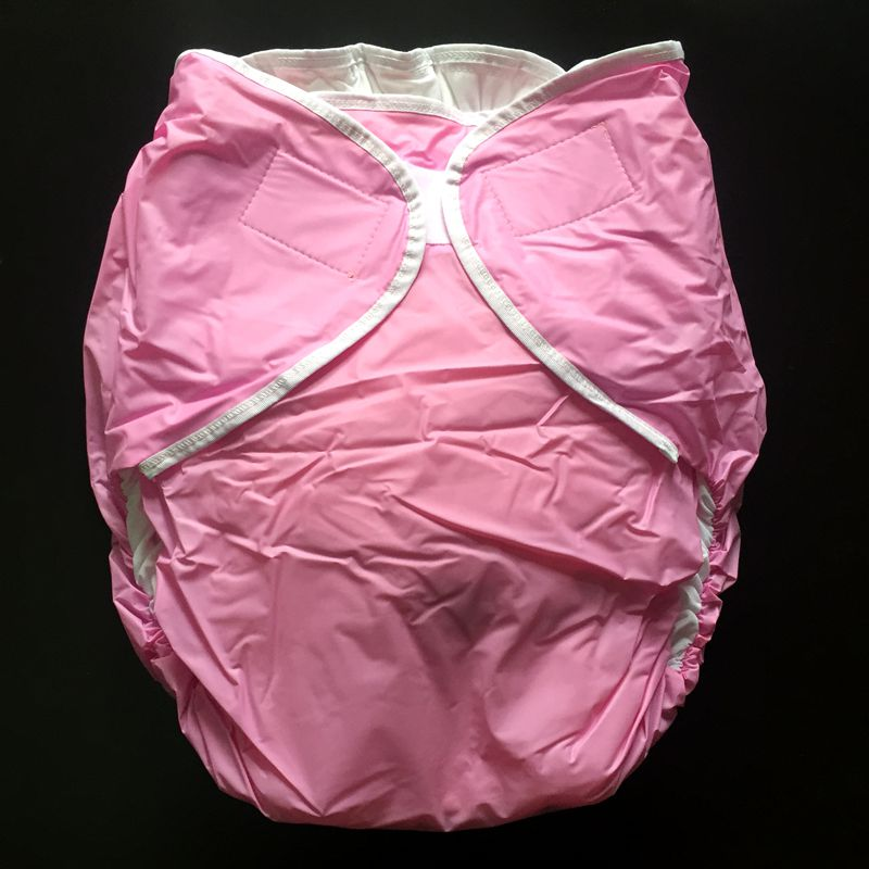 Free Shipping FUUBUU2016-Pink-M/L Free Adult Diapers Pvc Adult Diaper Cloth Diaper Adult Incontinence Pants For Adults ABDL