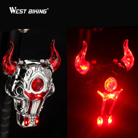 Cycling Warning Laser Light Mountain Bike MTB Bicycle Lights Cycling Back Lamp With Holder Bicicleta Ciclismo