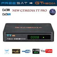 GTMEDIA TT PRO DVB-T2/T Terrestrial TV Receiver HD Digital TV Tuner Receptor MPEG4 DVB T2 H.265 DVB-C TV BOX+1 year CCCAM 4lines