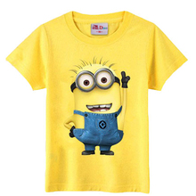 christmas children's clothing minions t shirt kids baby boy girl clothes costume t-shirts for boys girls tops clothes t shirt