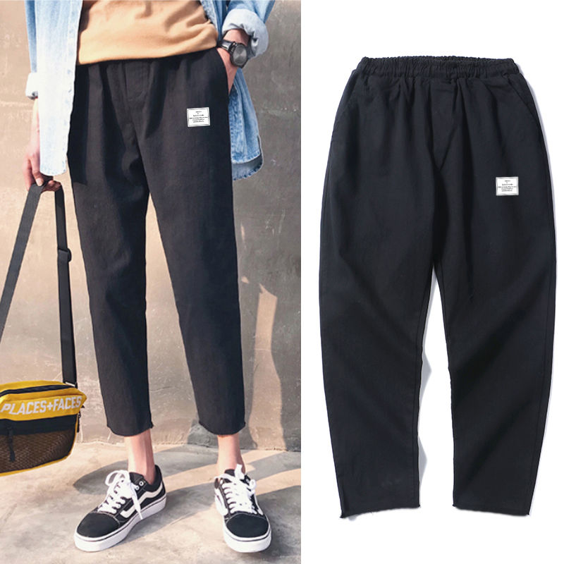 Leisure-Pants Spring Ins-Port-Style Teenagers Men's Korean And Summer Autumn Tide Student