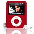 """Portátil Esporte Mini 3th FM mp3 Magro 1.8 """"LCD Portátil leitor de Música estéreo de 3.5mm Com a Leitura de E-BOOK Foto espectador para Walkman"""