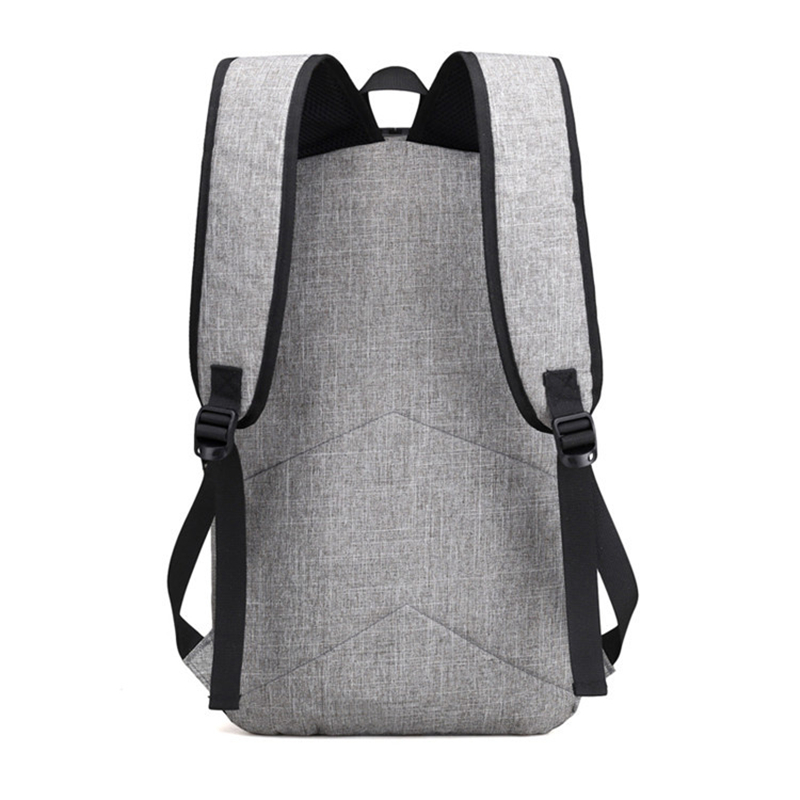 External USB Charge Backpack Men Anti Theft Lock Laptop Bag Large School Bags Male Travel Backpacks With Headphone Plug in Backpacks from Luggage Bags