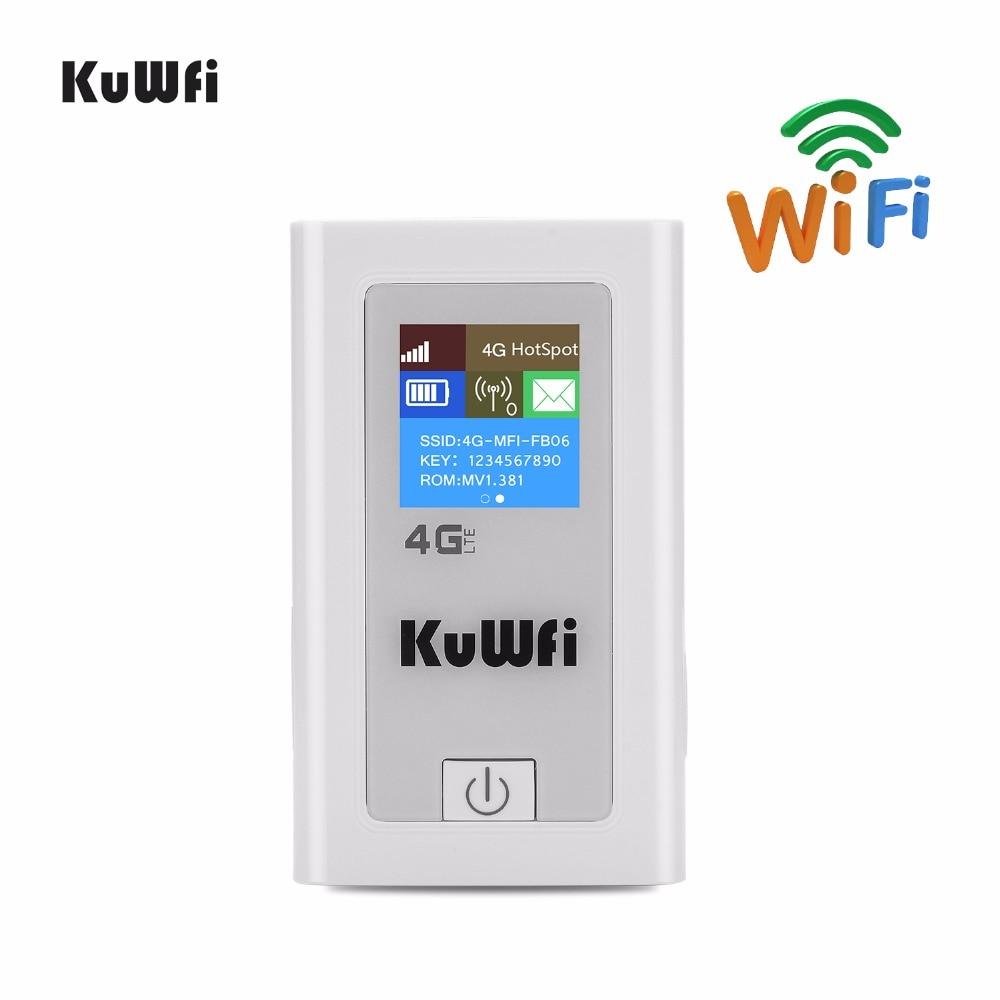 4G Wifi Router Unlocked 3G 4G LTE Travel Router 5200mAh Power Bank FDD LTE Car WiFi