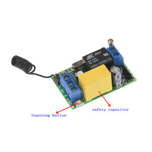 Image 2 - 3000 mt Fern AC 220 v 1 CH 1CH Relais RF Schalter Fernbedienung 2CH Sender + Mini 10A empfänger 315/433, inter lock