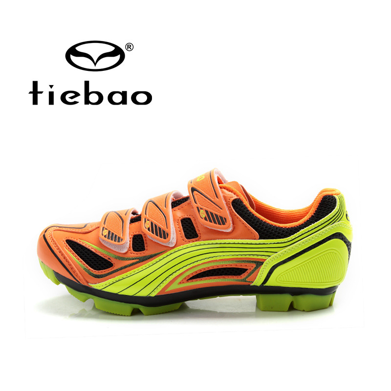 ФОТО Tiebao  Outdoor Sport MTB Cycling Shoes Mountain Bike Racing Self-Locking  bicycle sport Shoes for man women