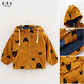 New Spring Autumn Child Jacket  Cotton Manteau Enfant Garcon Cartoon Boys Hoodies Zipper Kids Outerwear Boys Sweatshirts