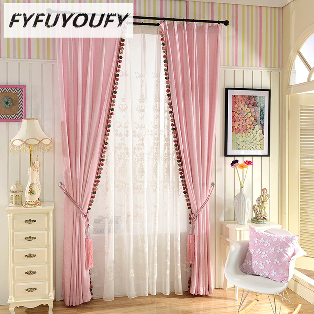 5 color Modern luxury elegant Solid curtain Window blinds Kitchen ...