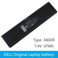 Dell Original New Replacement Laptop Battery Dell Latitude E7440 14 7000 E7420 E7450 PFXCR T19VW 34GKR 451 BBFT 7.4V 47WH