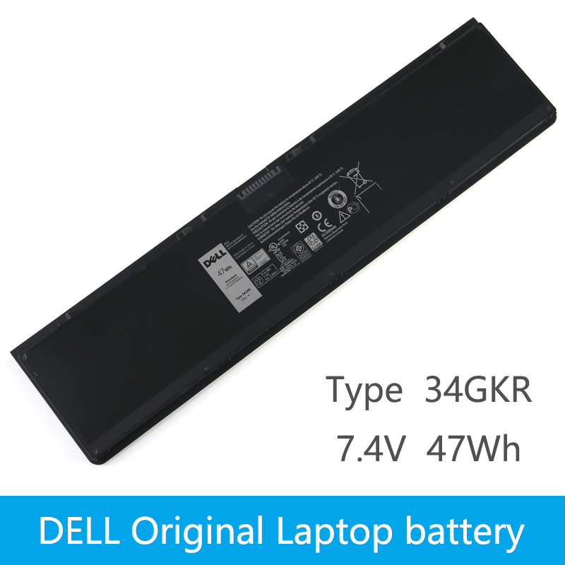 Dell Original New Replacement Laptop Battery  Dell Latitude E7440 14 7000 E7420 E7450 PFXCR T19VW 34GKR 451-BBFT 7.4V 47WH