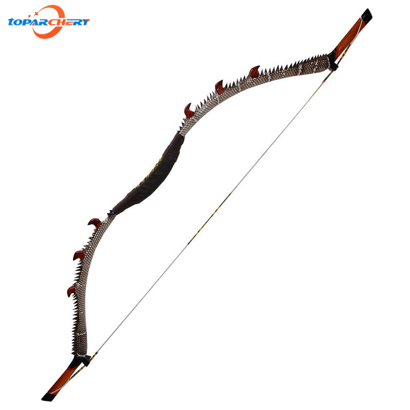 Traditional Handmade Recurve Bow Archery 35lbs 40lbs 45lbs Fiberglass Laminated Wooden Long Bow for Hunting Shooting Sport Games стоимость