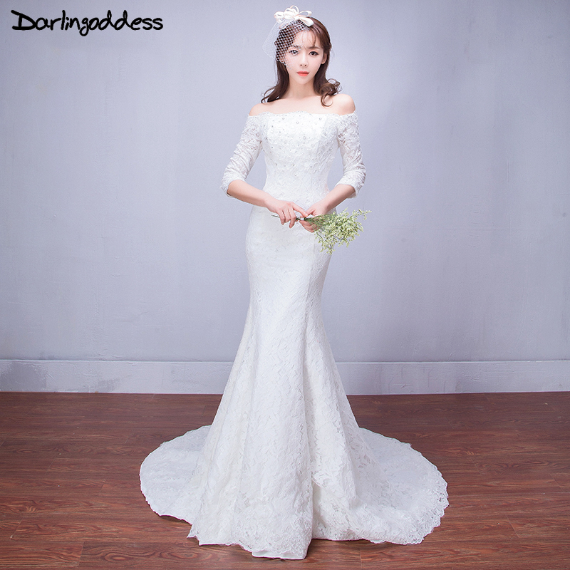 Aliexpress.com : Buy Vintage Lace Mermaid Wedding Dresses