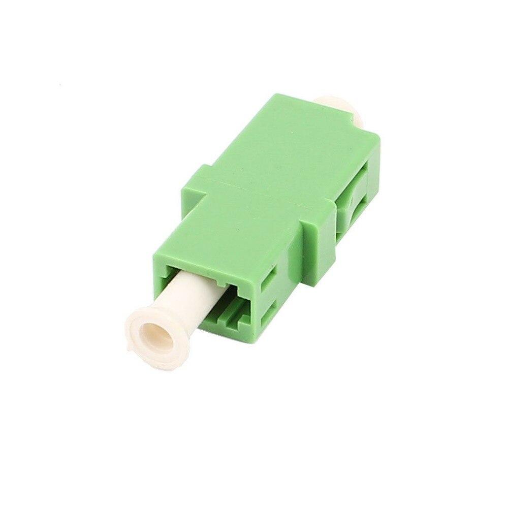 Jyttek FTTH LC/APC SM Simplex Волоконно-оптический коннектор, волоконно-оптический адаптер зеленого цвета