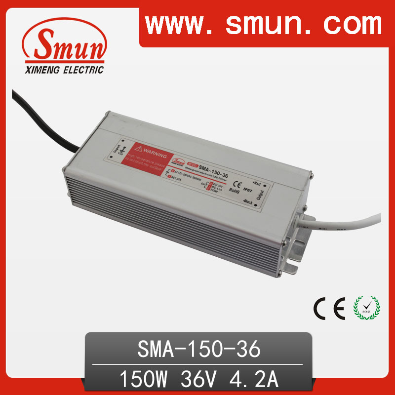 150W18-36A 4A constant current waterproof IP67 LED driver switching power supply for led strip light CE ROHS 1 year warranty 70w led driver dc54v 1 5a high power led driver for flood light street light constant current drive power supply ip65