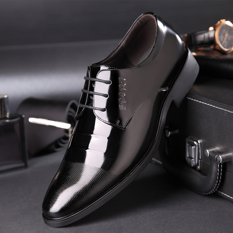 OSCO oxford shoes for men luxury brand mens patent leather black shoes mens pointed toe dress shoes 2018 classic derbies man pointed toe dress shoes mens patent leather black shoes wedding dress oxford shoes for men designer version luxury prom shoes
