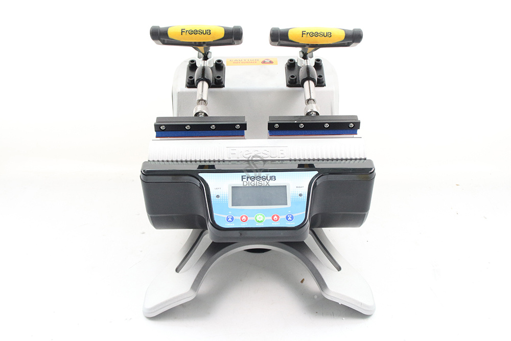 Free shipping ST 210 Double station Thermal Mug Transfer Printer font b Machine b font Mug